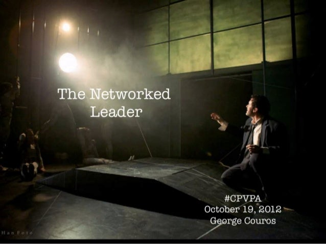 The Networked Leader #CPVPA
