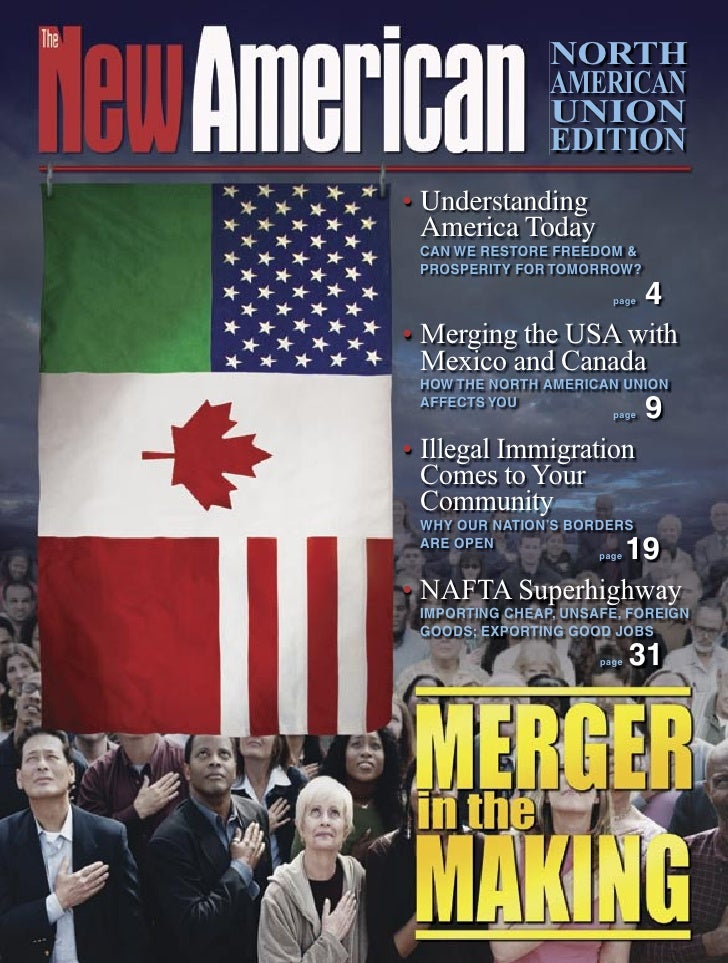 NORTH                 AMERICAN                 UNION                 EDITION • Understanding   America Today  CAN WE RESTO...