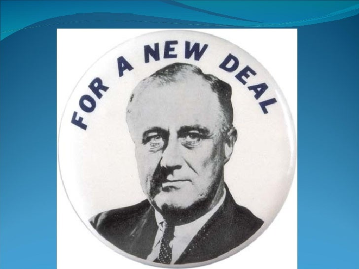 The Main IdeaIn 1933 Franklin Delano Roosevelt became  president of a suffering nation. He quickly   sought to address the...