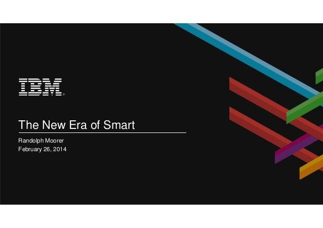 The new era of smart