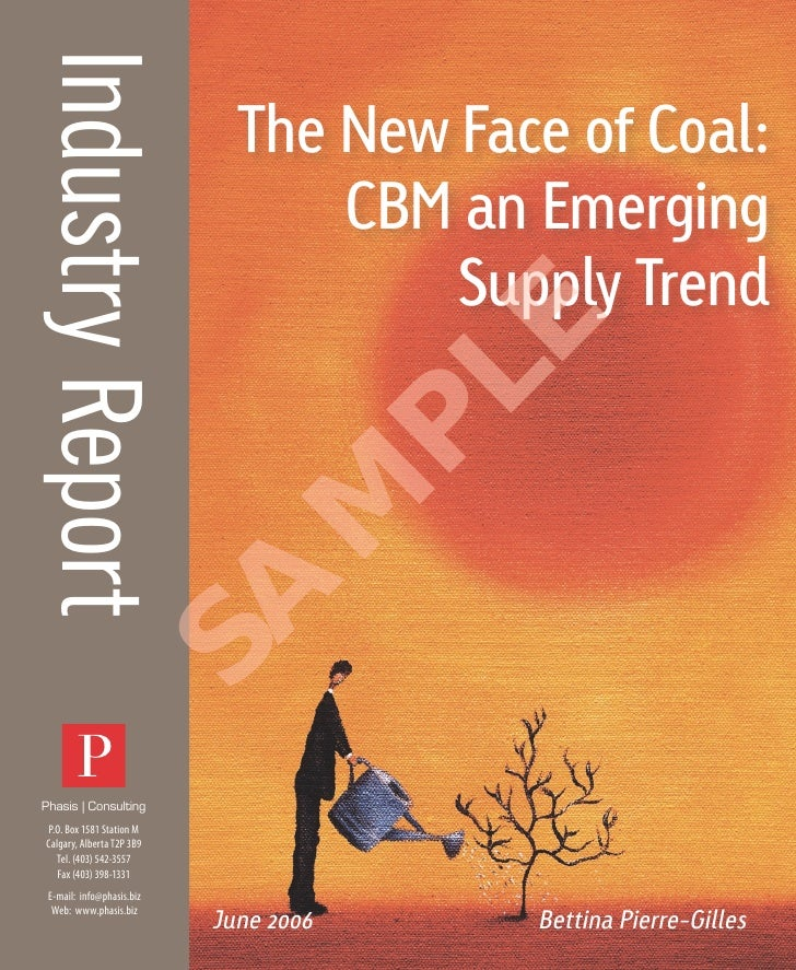 The New Face Of Coal: CBM an Emerging Supply Trend