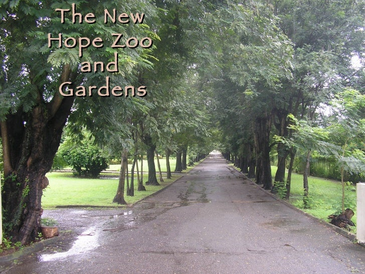 The New Hope  Zoo  and Gardens