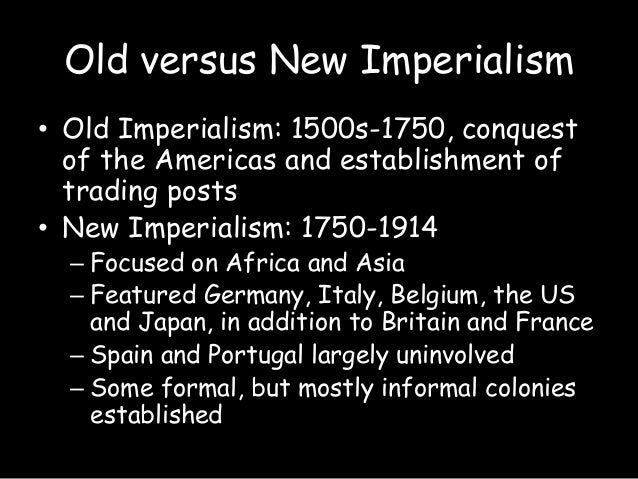 "the development of new imperialism Western authors have, for their part, sought to identify communist policies with ""the new imperialism"" (seton-watson 1961 from this development."