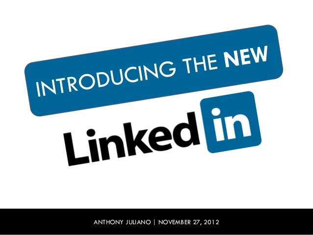 Introducing The New LinkedIn
