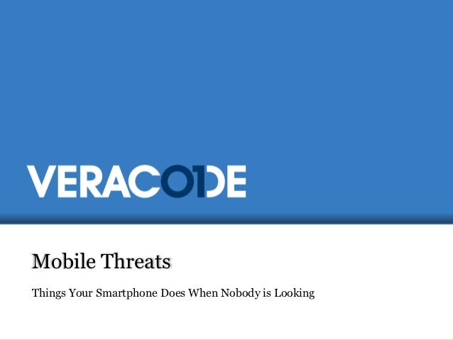 The New Mobile Landscape - OWASP Ireland
