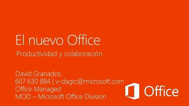 The new office   microsoft