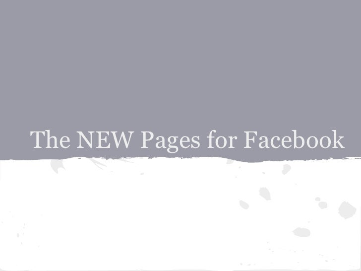 The New Pages Timeline For Facebook