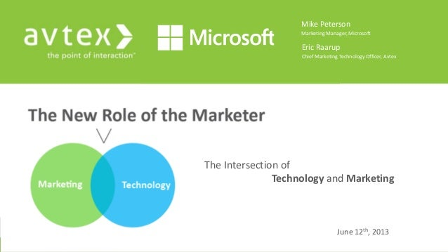 The new role of the marketer