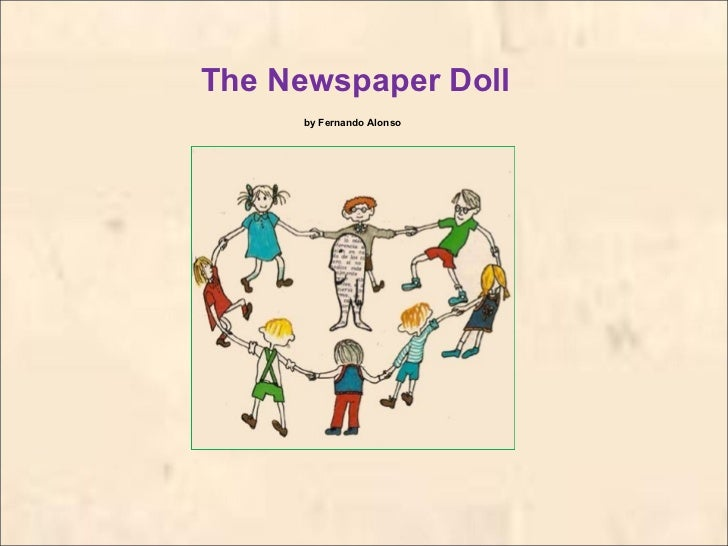 The newspaper doll