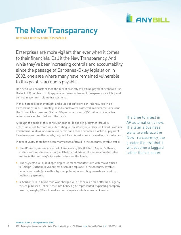 [Whitepaper] The New Transparency