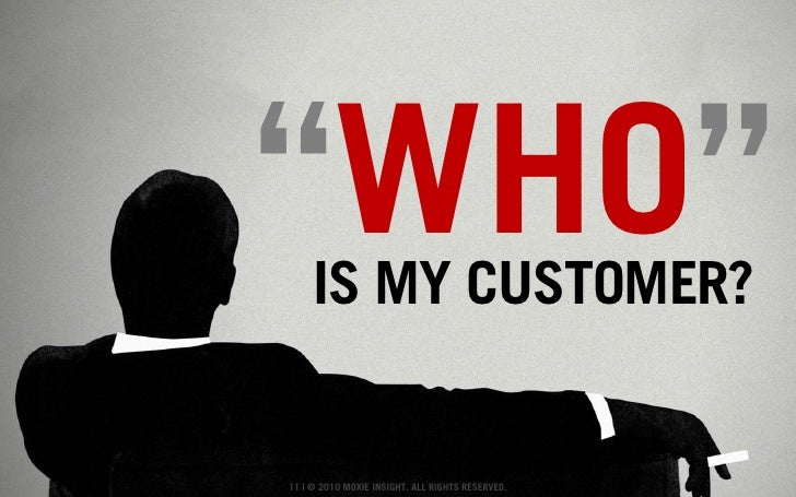 What is a 'Customer'