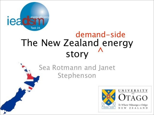 The New Zealand energy story