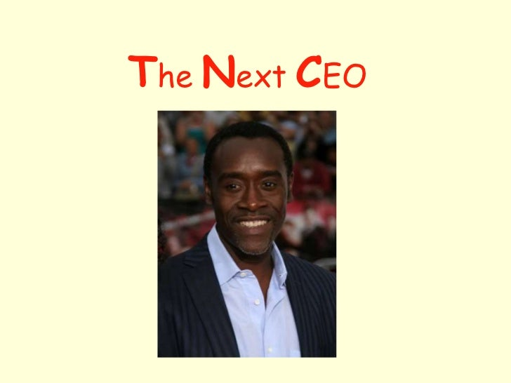 The next ceo