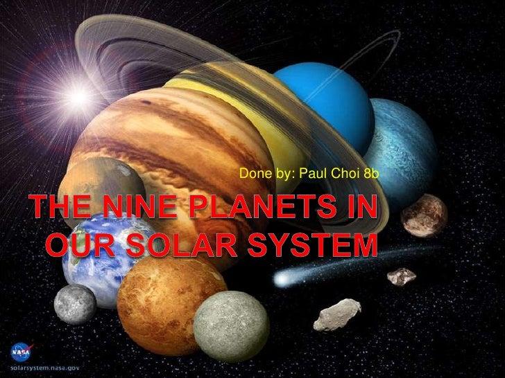 nine planet solar system 3d - photo #48