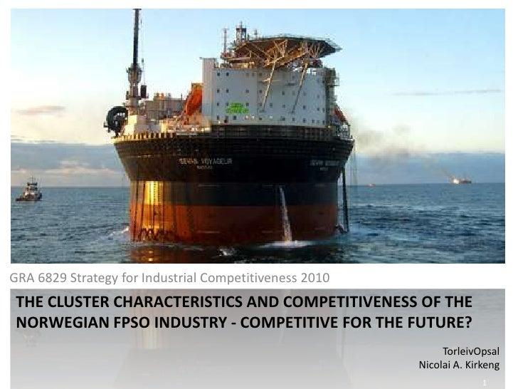 The Norwegian FPSO Cluster
