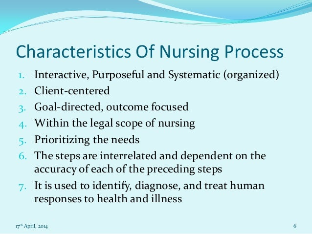 essay questions on nursing process