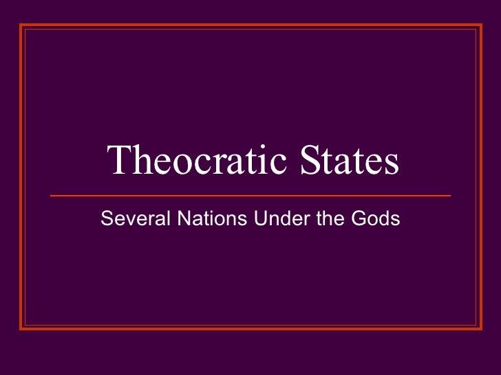 Theocratic States