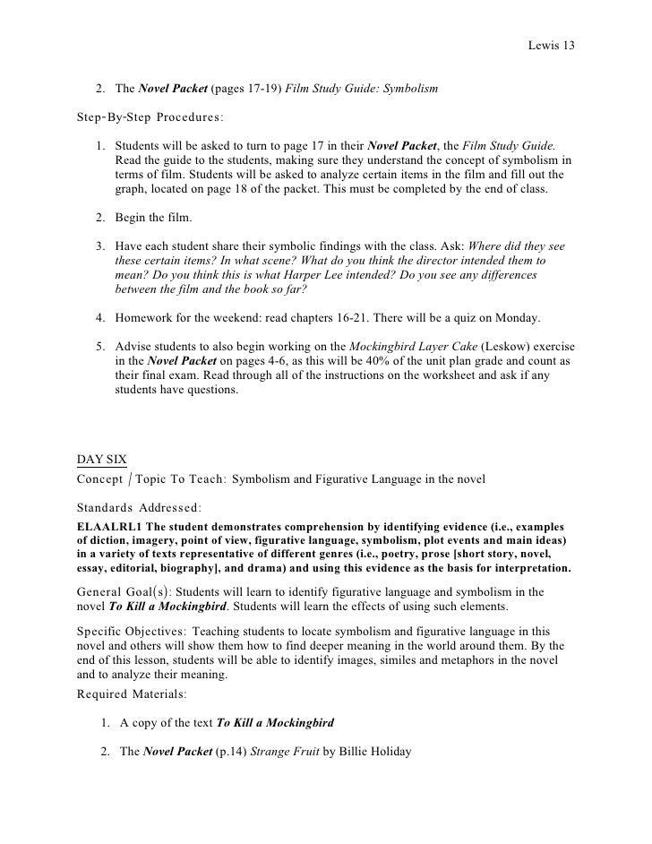 To Kill A Mockingbird Film Analysis Essay