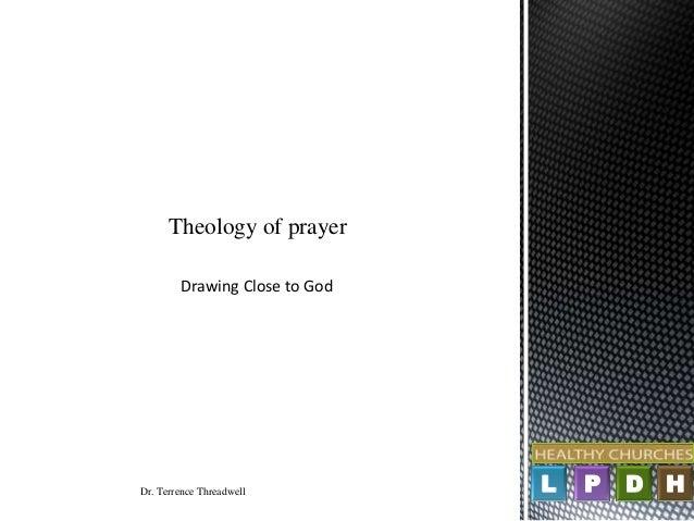Theology of prayer