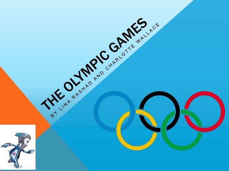 The olympic games power oint presentation show