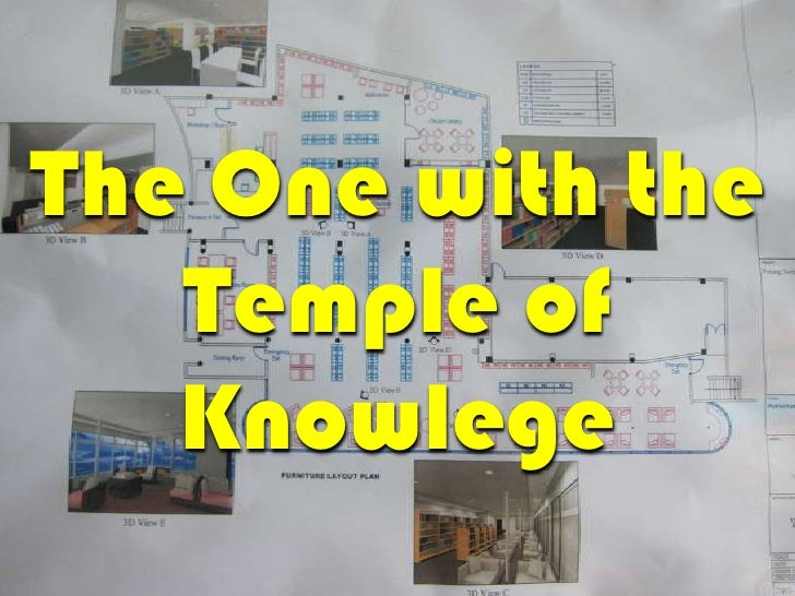 The One with the<br />Temple of Knowlege<br />