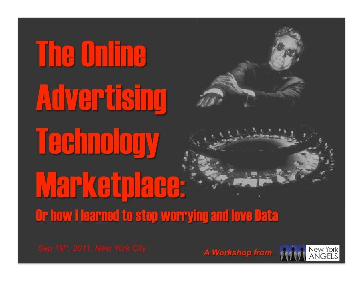 The online ad technology marketplace
