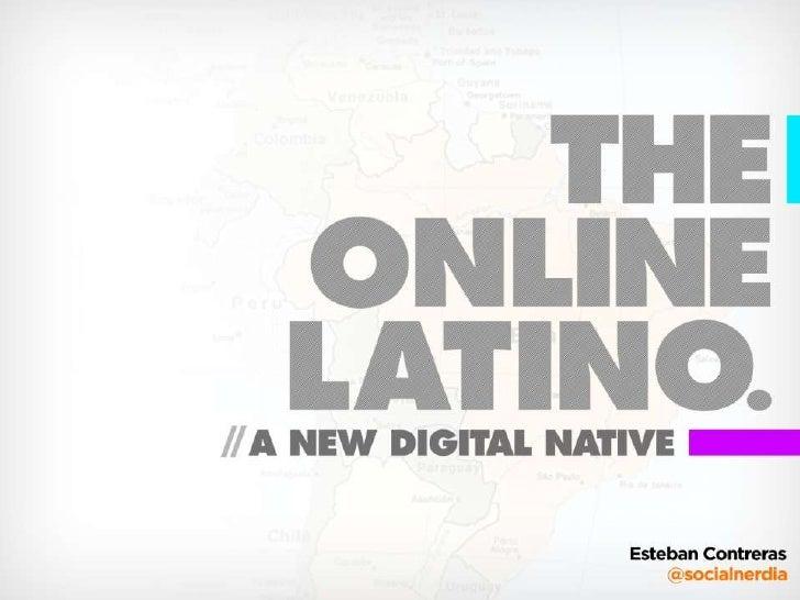 SXSW 2010 - The Online Latino: A New Digital Native - Social Media and Latin America