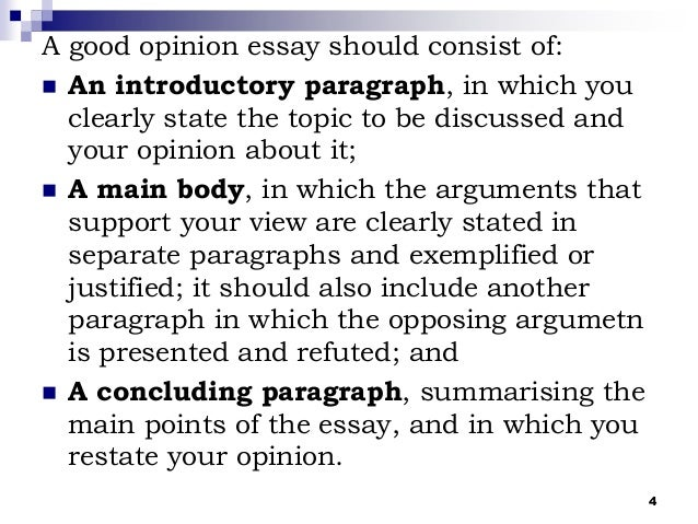 Osslt Opinion Essay Rubric – 895704