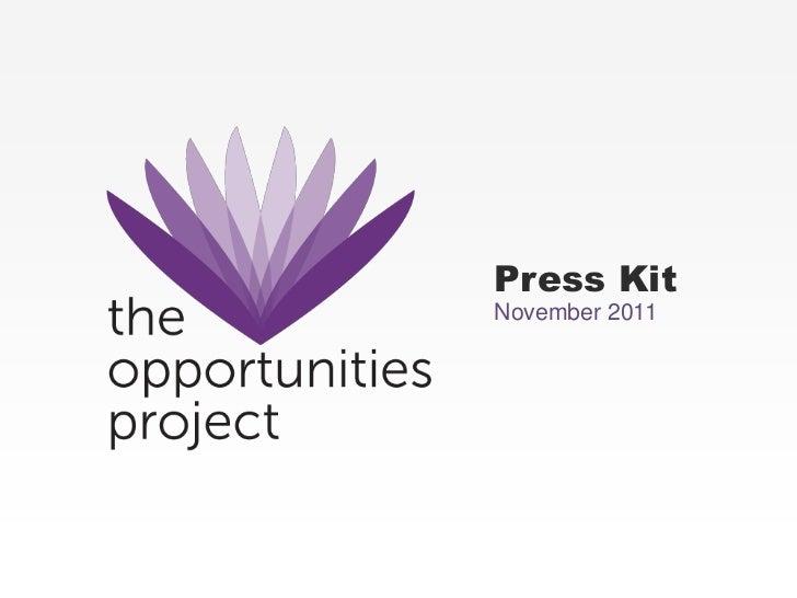 Press KitNovember 2011