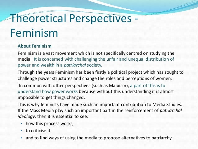 an analysis of the feminist approaches to sociological theory Systems of oppression, racism, gender - feminist sociological theory: what is intersectionality.
