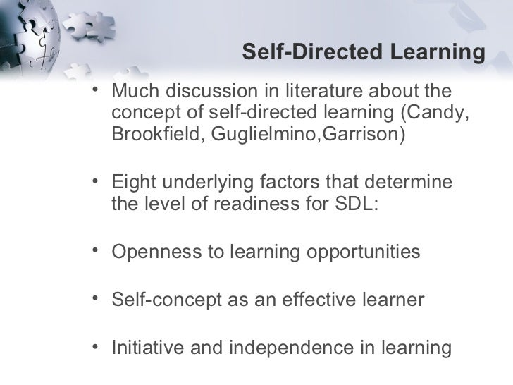 self managed learning in the context of Why self-directed learning is so important in the context of lifelong learning the  answers to these and other questions are looking for in this.
