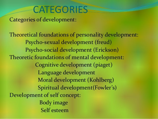 """theories on personality development In order to understand how the process of personality development  see the  emergence of a """"core-shell"""" theory of personality development."""