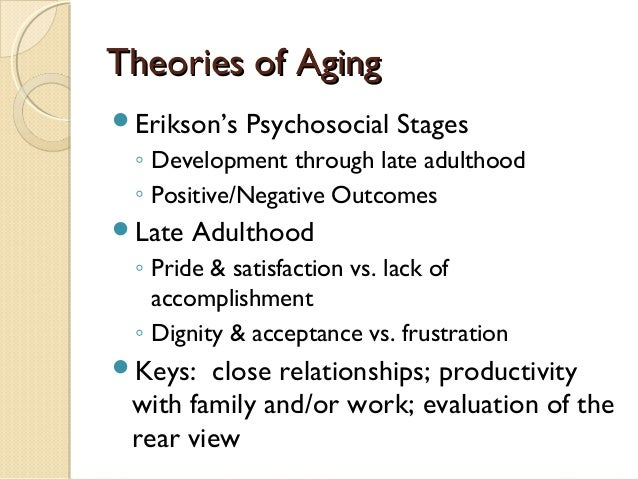 an analysis of aging theories and changes in dna Tertiary aging - rapid changes prior to death (eg possibly some intellectual changes) theories of aging why age and die-trees in isolation don't-over 300 theories 1 factor analysis.
