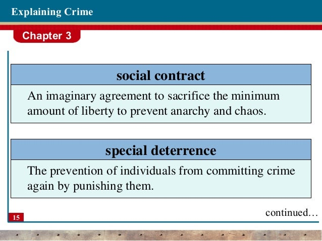 essay deterrence theory Deterrence theory of crime is a method in which punishment is used to dissuade people from committing crimes there are two types of deterrence: general and specific general deterrence is punishment to an individual to stop the society as a.