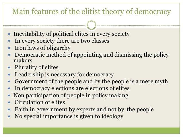 Essay Democracy