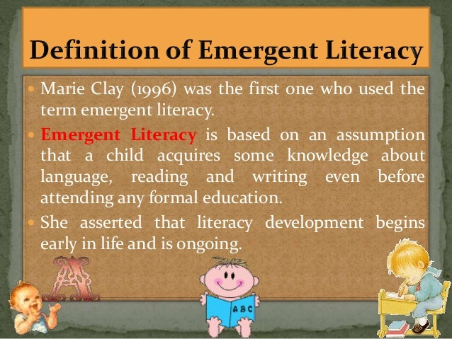 thesis on emergent literacy
