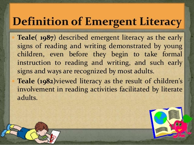 language and literacy essay