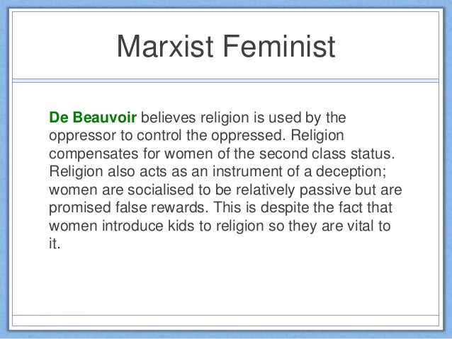 Feminism And Religion Essay Free - image 7