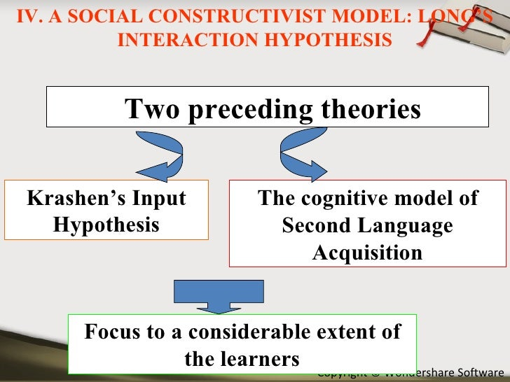 The Application of Input Hypothesis to the Teaching of