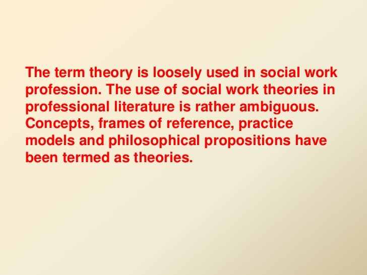 the aspects of social work theories The three main sociological perspectives 1  interconnected parts that work together in  dysfunctional if they disrupt social stability some aspects of.
