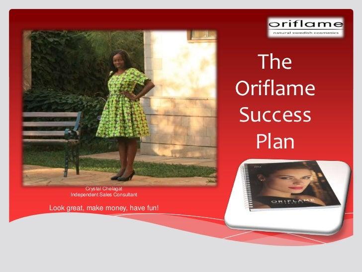 The Oriflame Success Plan