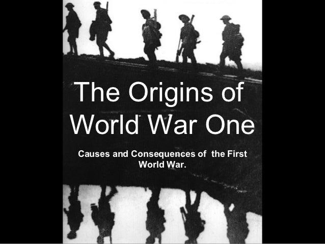 The origins of WWI
