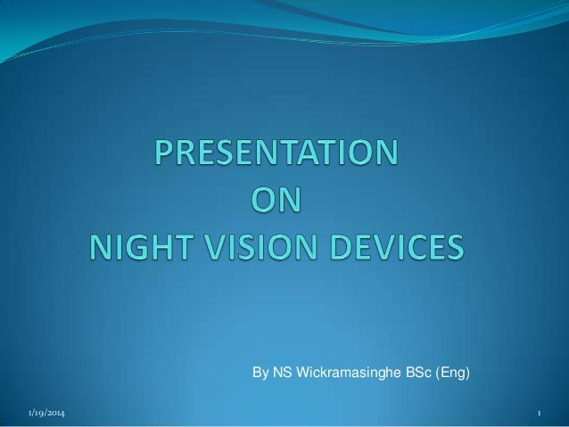 Theory of night vision