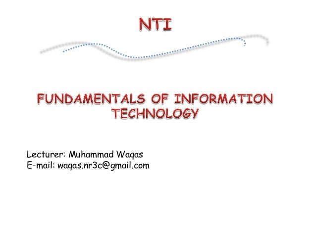Theory lecture01-prt i