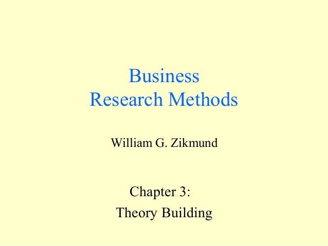 Theory building (brm)