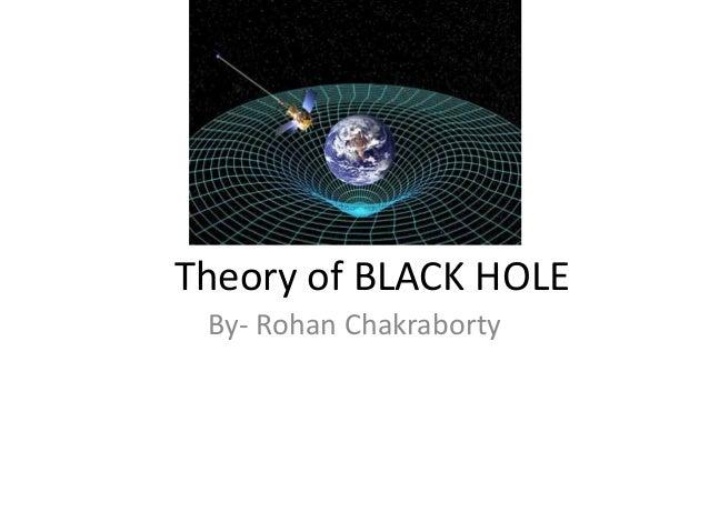 Theory of BLACK HOLE By- Rohan Chakraborty