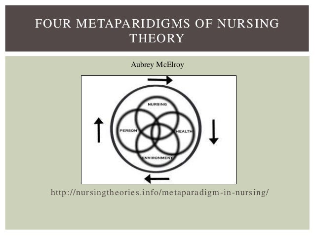 Nursing philosophy paper metaparadigm