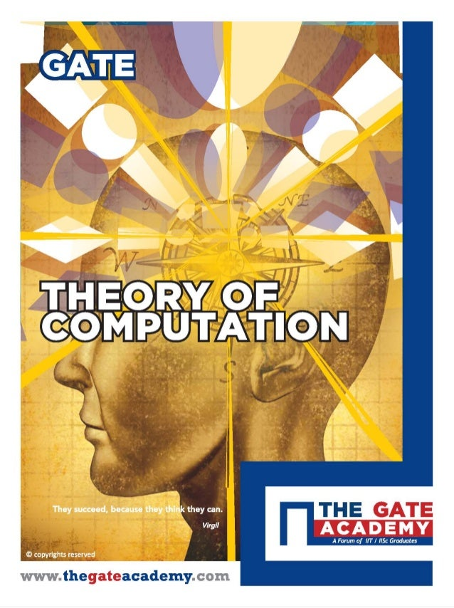THEORY OF COMPUTATION For Computer Science & Information Technology By www.thegateacademy.com