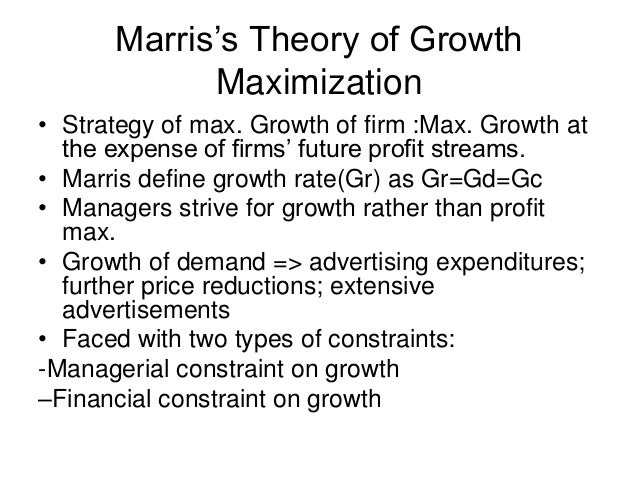 problems with profit maximization strategy finance essay (results page 6) view and download profit maximization essays examples also discover topics, titles, outlines, thesis statements, and conclusions for your profit maximization essay.