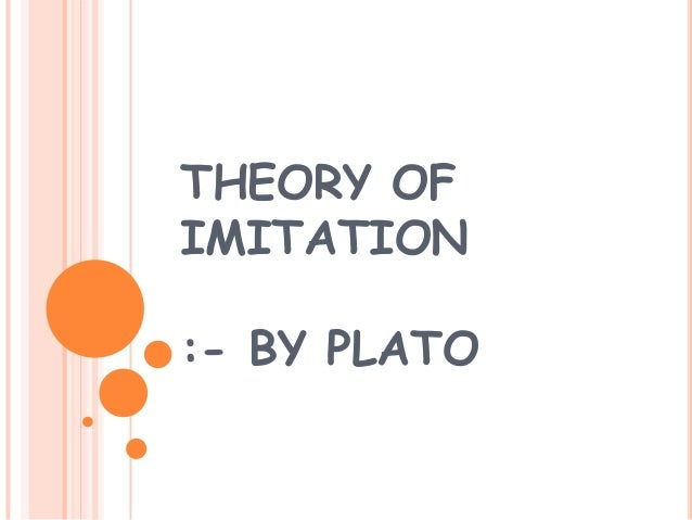 comparison between plato and aristotle in imitation Free comparing plato papers,  distinctions and comparisons between aristotle and plato  when discussing his theory of imitation, plato alludes to the.